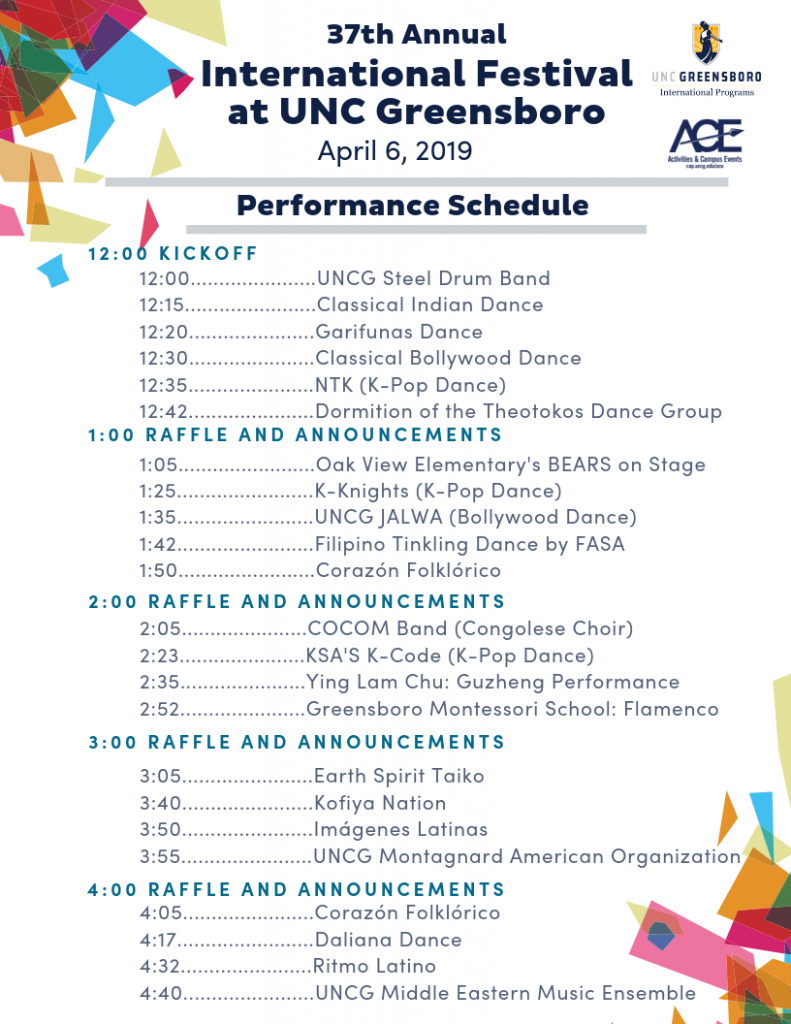 Copy of i-fest performance schedule POSTER